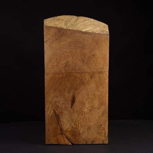 Urne aus Platanen Holz