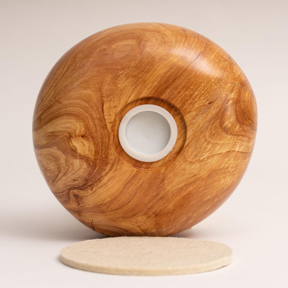Kleinurne aus Holz für Aschbeutel